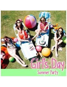 Girl's Day 4th  Mini Album - Everyday No. 4 Summer Party CD + Poster