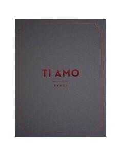 TVXQ - TI AMO TVXQ! - Photobook + 3DVD + Poster + Case