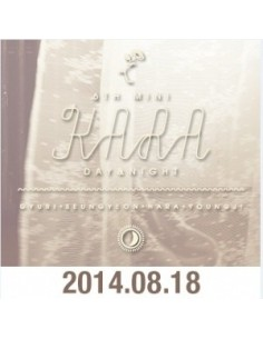 Kara 6th Mini Album - Day & Night CD + Poster
