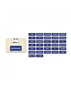"[ JYPOfficial Goods ] JYP Nation Korea 2014 ""One Mic"" - Name Tag"