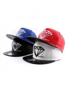 [Cap363] Diamond pu Snapback
