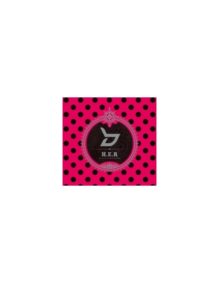 Block B 4th Mini Album - H.E.R (Special Edition) CD + DVD + Photobook + Posters