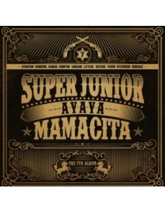 Super Junior 7th Album - MAMACITA CD + Poster + Gift