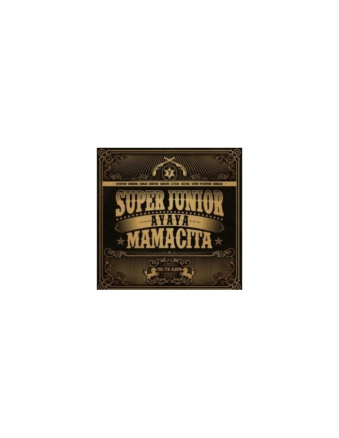 Super Junior 7th Album - MAMACITA CD + Poster + Gift