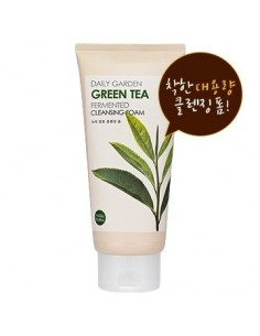 [Holika Holika] Daily Garden Green Tea Fermented Cleansing Foam 300ml