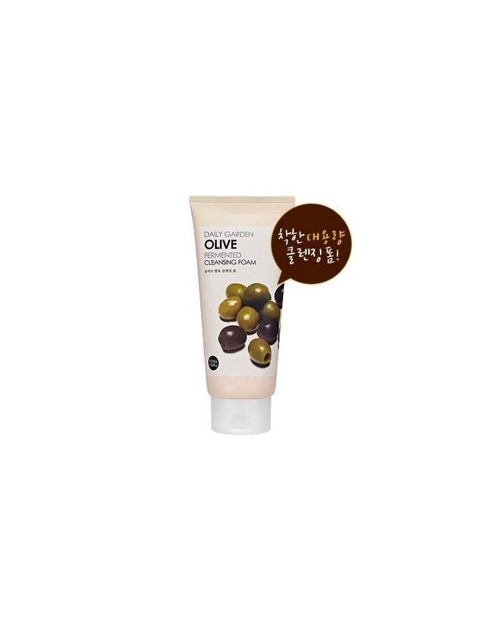 [Holika Holika] Daily Garden Olive Fermented Cleansing Foam 300ml