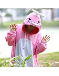 [PJA107] Animal Pajamas - Pink Whale