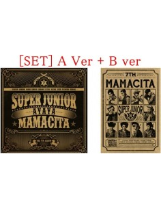 [SET] Super Junior 7th Album - MAMACITA A verion + B version