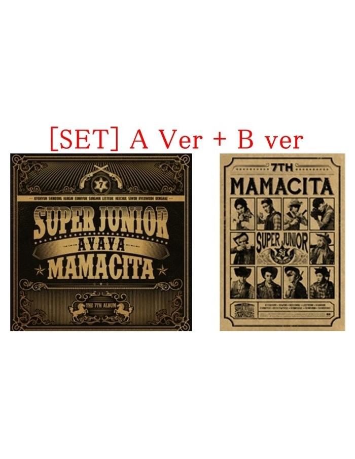 [SET] Super Junior 7th Album - MAMACITA A verion + B version