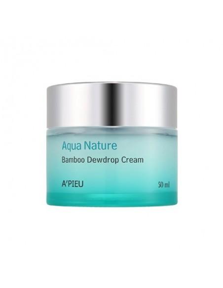 [A'PIEU] Aqua Nature Bamboo Dewdrop Cream Water Gel 50ml