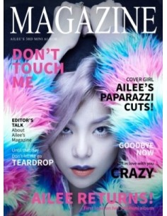 AILEE 3rd Mini Album - MAGAZINE CD