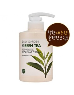 [Holika Holika] Daily Garden Green Tea Fermented Cleansing Cream 430ml