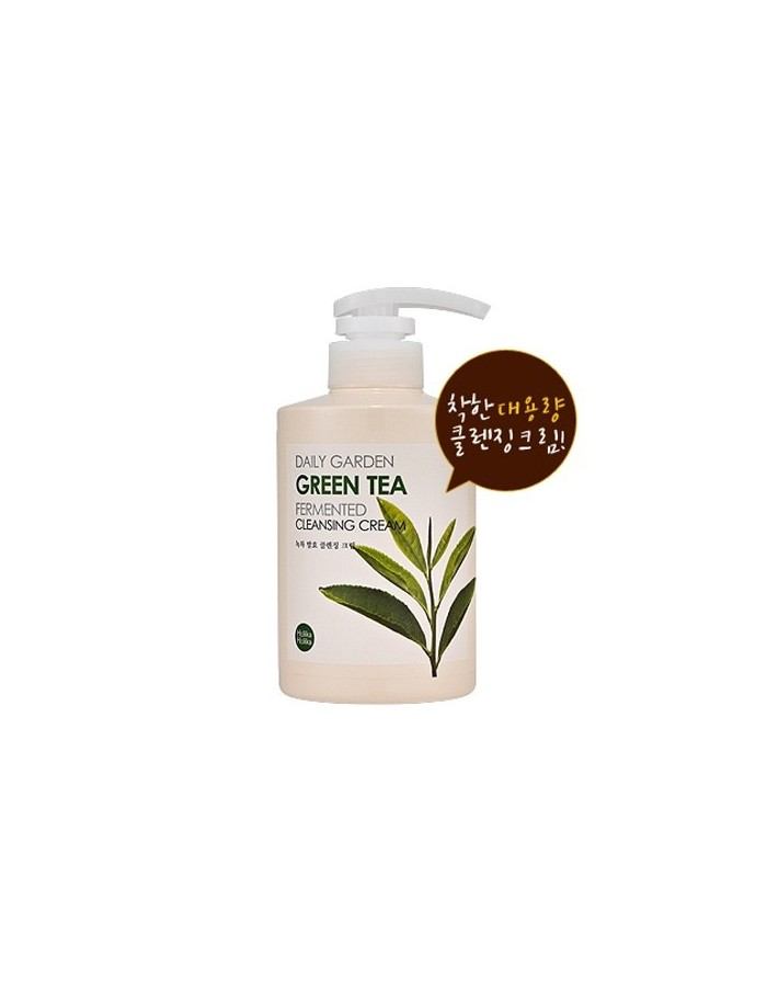 [Holika Holika] Daily Garden Green Tea Fermented Cleansing Cream 430ml