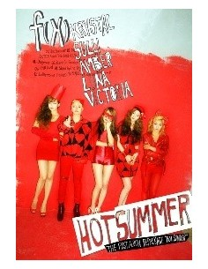 FX F(x) First Album Repackage CD + Poster