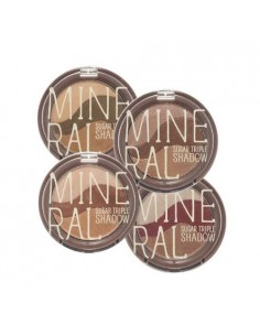 [Skin Food] Mineral Sugar Triple Shadow 5.5g ( 4Colors )