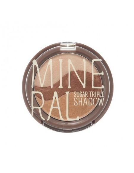 [Skin Food] Mineral Sugar Triple Shadow 5.5g ( 4Colors )