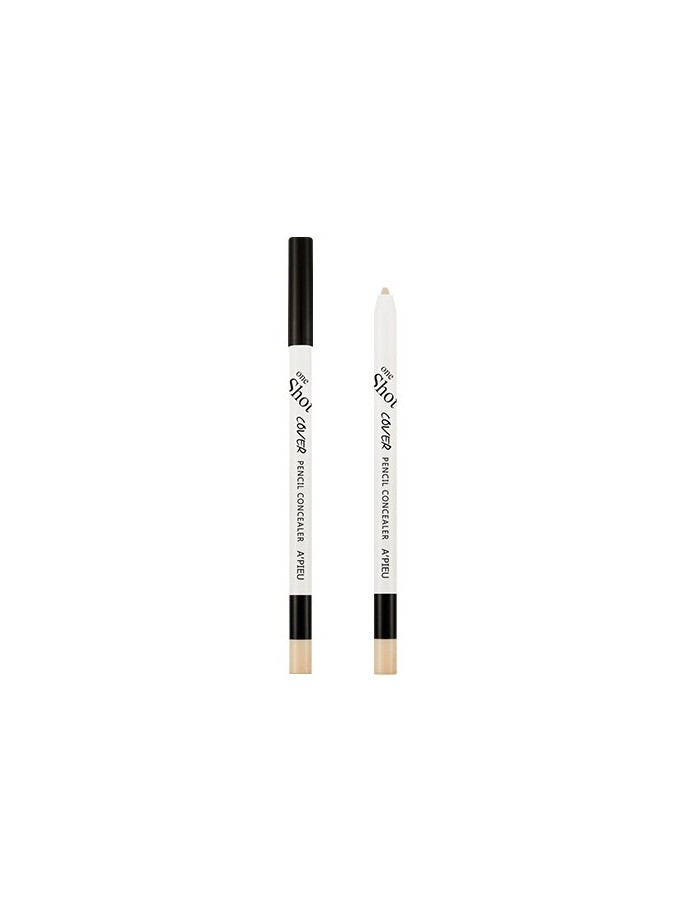 [A'PIEU] One Shot Cover Pencil Concealer 0.5g ( 2Colors )