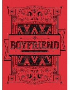 BOYFRIEND 3rd Mini Album - WITCH CD + Poster