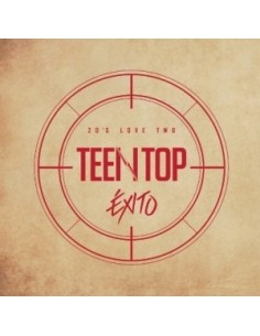 Teen Top - TEEN TOP 20's LOVE TWO & EXITO CD + Poster