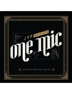 JYP NATION KOREA 2014 ONE MIC - CD + Photobook + Poster ( first press only)