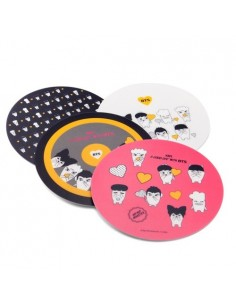 [ BTS Official Goods ] HIPHOP MONSTER : Mouse Pad ( 4Colors )