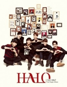 HALO 2nd Single Album - Hello HALO CD + Poster