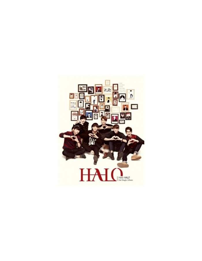 HALO 2nd Single Album - Hello HALO CD + Poster