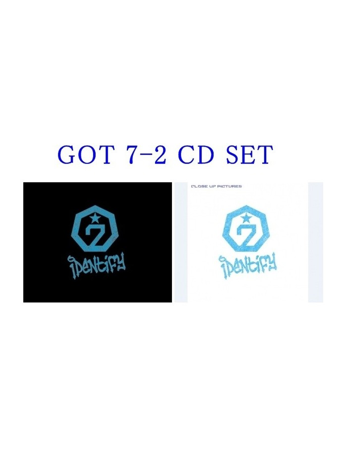 [SET] GOT7 1st Album Vol 1 - Identify  Original + Close up Version