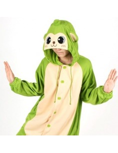 [PJB186] Animal Pajamas - Green Monkey