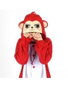 [PJB187] Animal Pajamas - Red Monkey