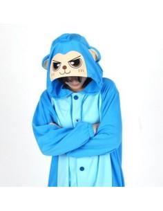 [PJB188] Animal Pajamas - Blue Monkey