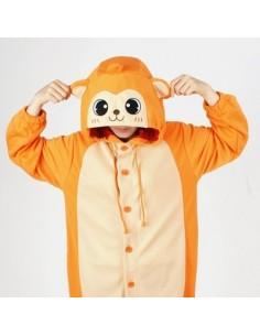 [PJB188] Animal Pajamas - Orange Monkey