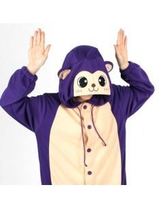 [PJB188] Animal Pajamas - Purple Monkey
