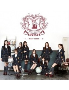 LOVELYZ 1st Album - Girls' Invasion CD + Poster