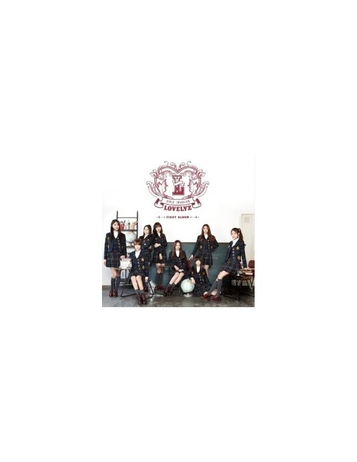 LOVELYZ 1st Album - Girls' Invasion CD + Poster