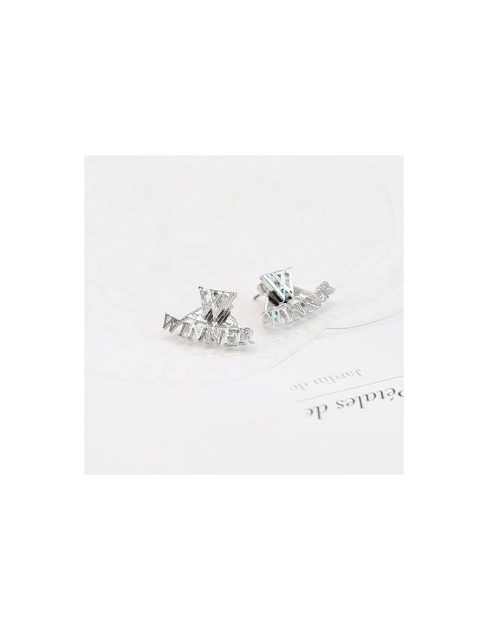 [WN10] Winner Twoway Simple Logo Earring