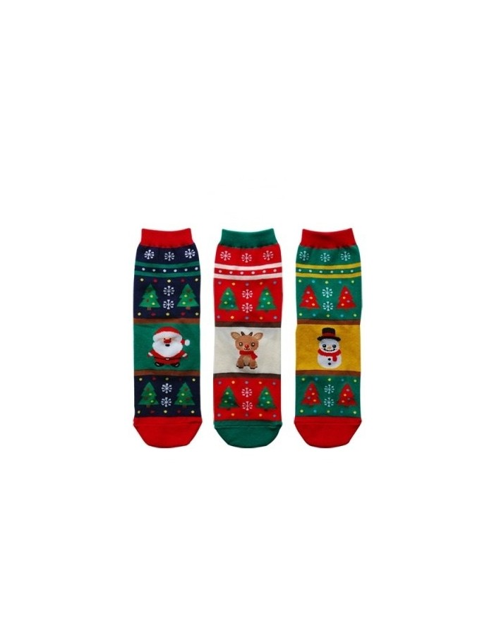 Merry Christmas Character Socks Set