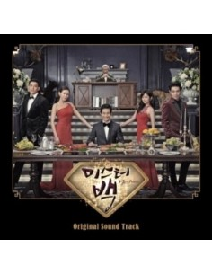 MBC Drama Mr. Back O.S.T ost CD