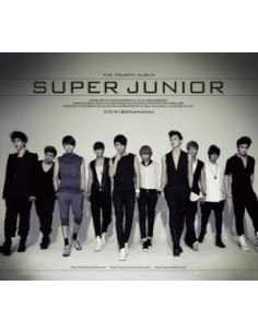 SUPER JUNIOR BONAMANA 4th Repackage Album