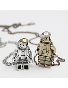 [DR81] Lego is My Friend Necklace
