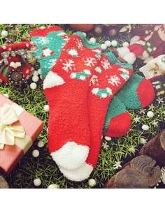 Jinglebell & Santa Sleeping Socks