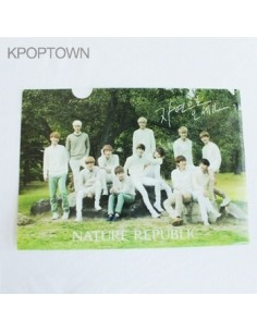 [Nature Republic] Official EXO Clear File