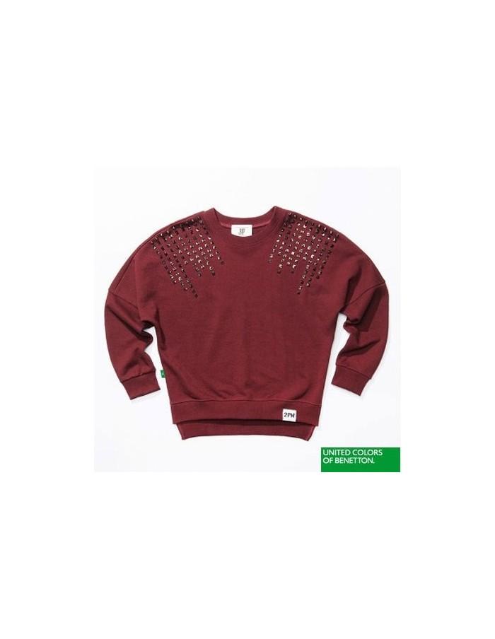 [2PM Official Goods] 2PM Clothes Album : 2PM X BENETTON STUC MTM T-shirts ( 4Colors )