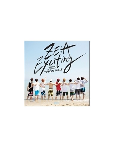 ZEA ZE:A Special Single Album EXCITING CD + Poster