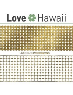 [ Nail Sticker ] Love Hawaii - Water Decal Art Sticker Ver 62