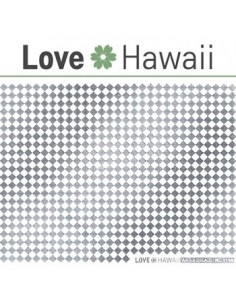 [ Nail Sticker ] Love Hawaii - Water Decal Art Sticker Ver 63