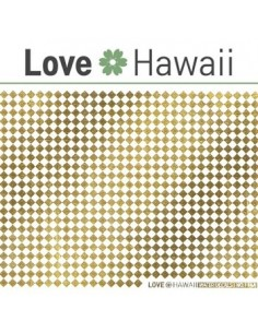 [ Nail Sticker ] Love Hawaii - Water Decal Art Sticker Ver 64