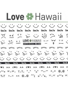[ Nail Sticker ] Love Hawaii - Water Decal Art Sticker Ver 72