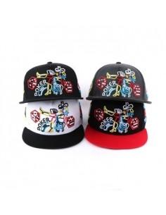 [CAP405] Neon Poker Snapback