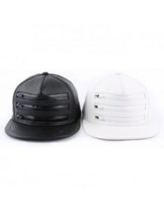 [CAP409] 3 Zipper Snapback